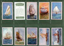 Collectable Tobacco Cigarette cards set Ship Series 1934 by Carroll`s